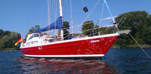 Segelyacht Athene